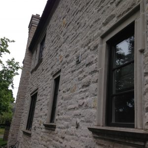 Showcasing beautiful window cleaning services on a home in Toronto