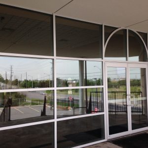 Toronto commercial window cleaning services completed at office building