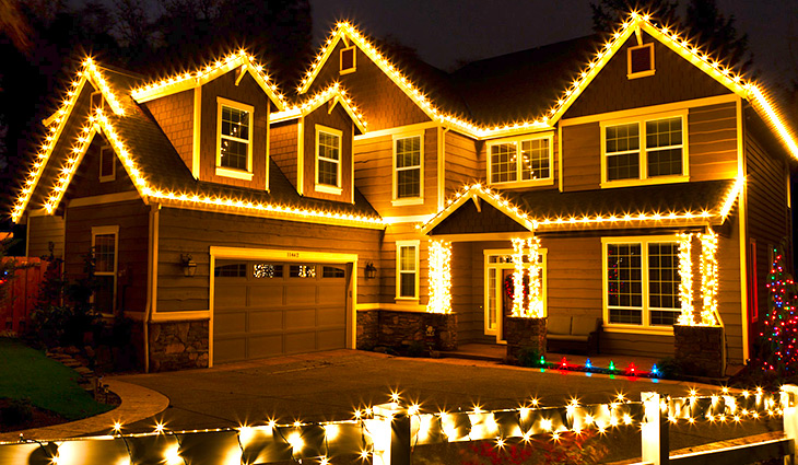 Christmas Light Installation Service