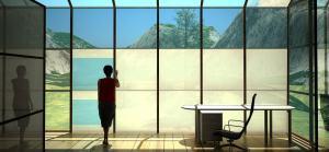high-tech windows in a toronto office space