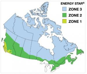 climate zones in canada