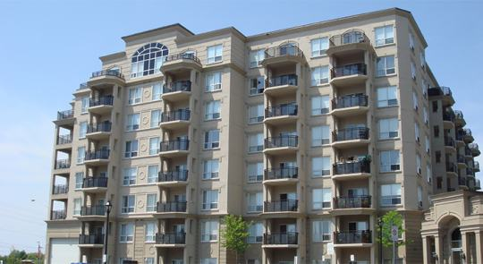 vaughan ontario condominium after window cleaning services